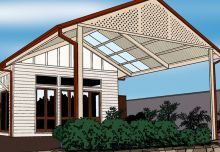 Carports gable end