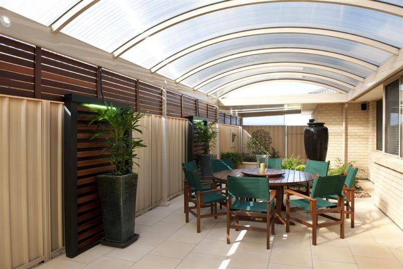 Curved Roof Verandahs Adelaide Burns For Blinds