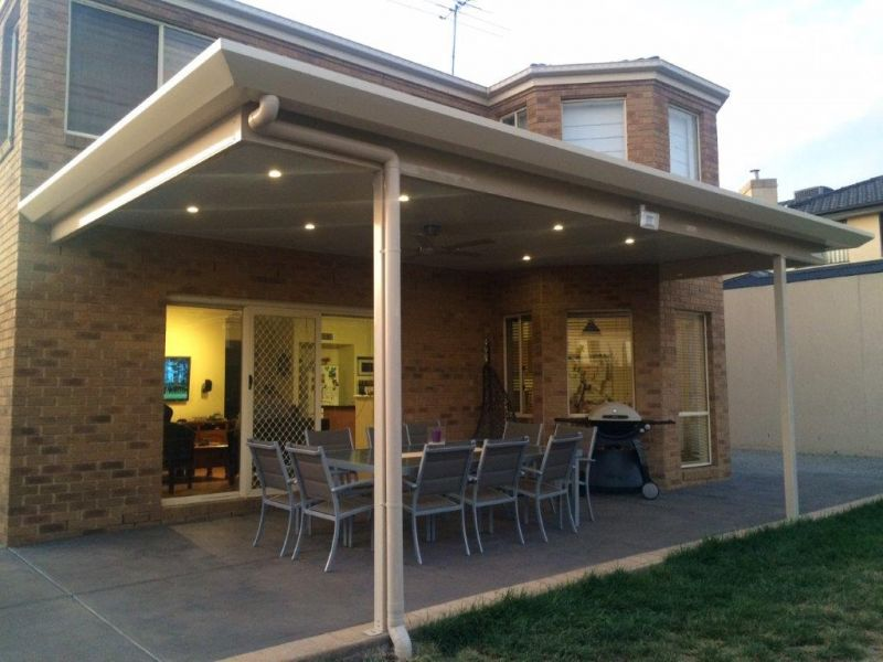 Flat Roof Verandahs Carports Amp Patios With Victory