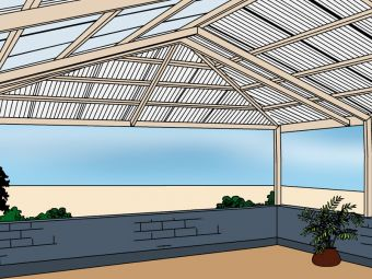 Carports and verandahs hip roof