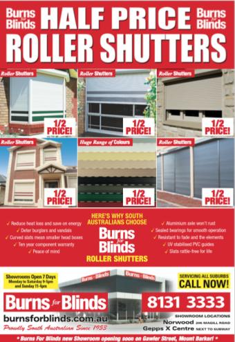 Half Price Roller Shutters