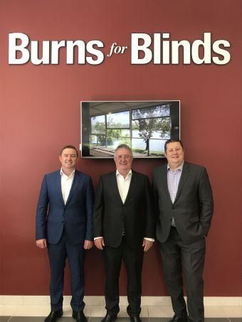Burns for Blinds Senior Management Team