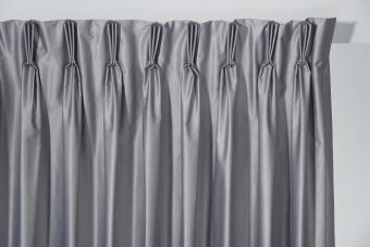 Curtains stacking / pleating - Triple
